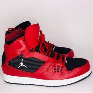 Like new worn once ( men's Jordan's high tops